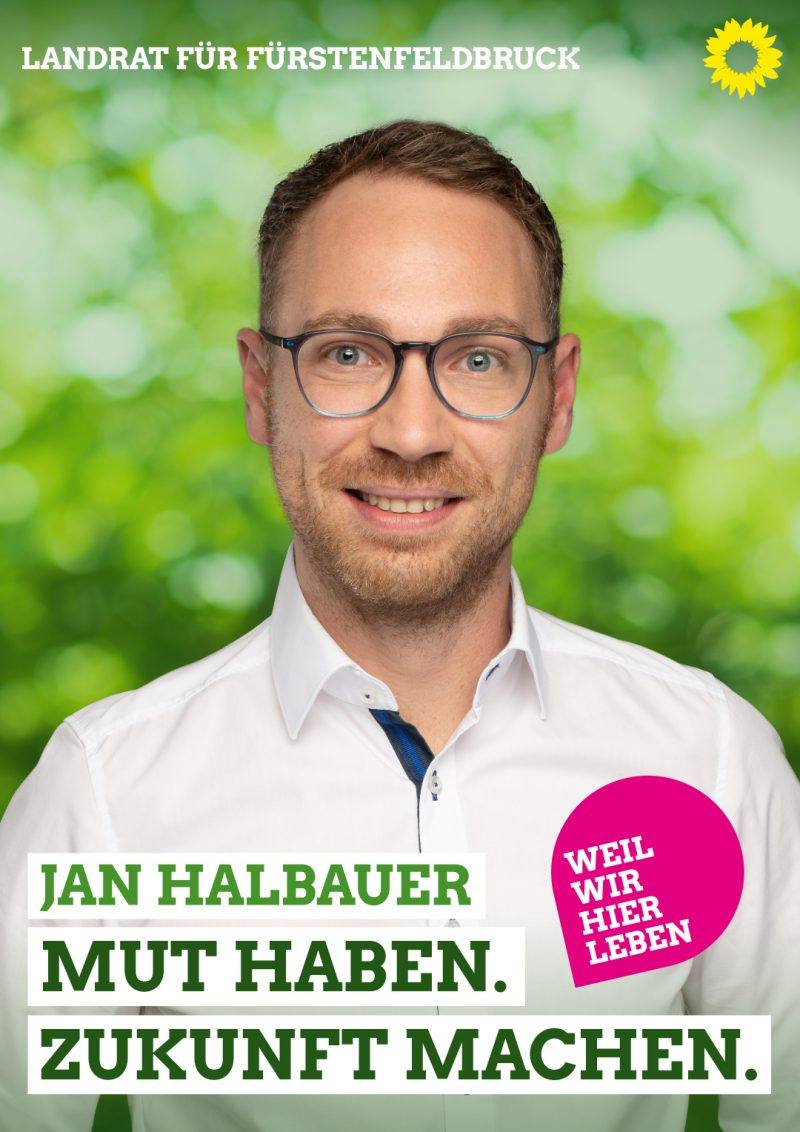 Landratskandidat Jan Halbauer Kommunalwahl 2020 Landkreis FFB