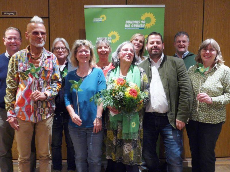 Die ersten 10 Kandidat*Innen für die Kommunalwahl 2020 der Olchinger GRÜNEN.