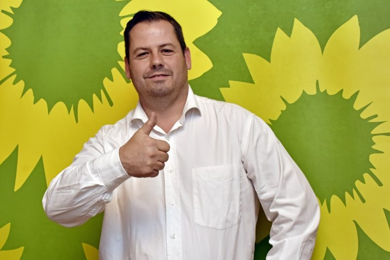 Michael Maier ist Bürgermeisterkandidat der Olchinger GRÜNEN für die Kommunalwahl 2020