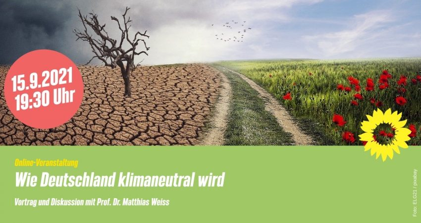 Veranstaltung Wie Deutschland klimaneutral wird