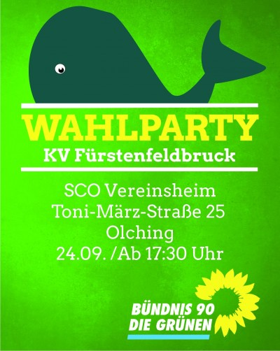 Wahlparty in Olcing
